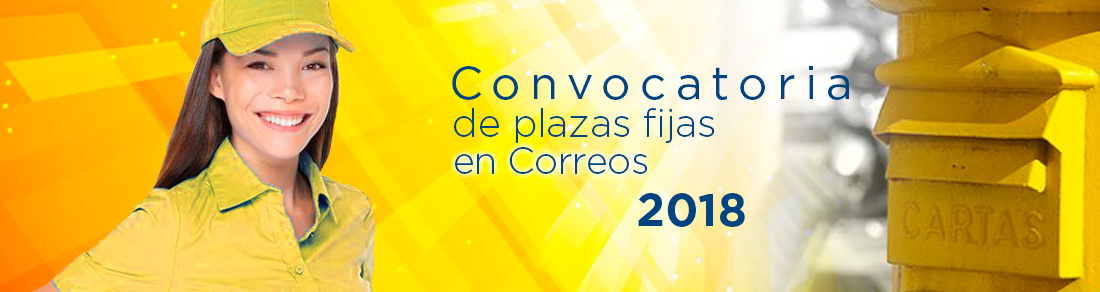 Convocatoria de Correos para 2018