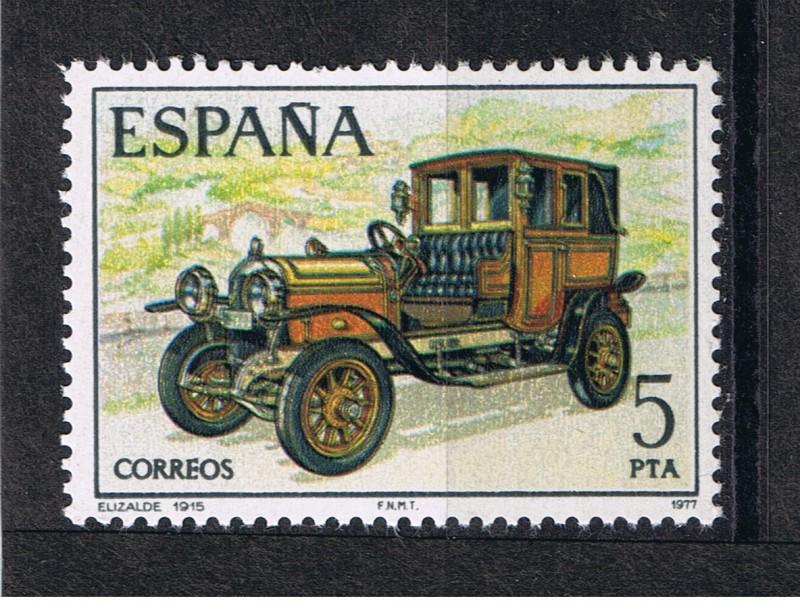 Tipos sellos correos en España