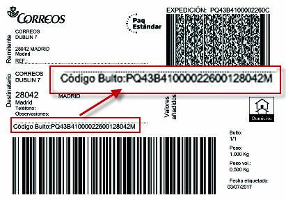 correos localizador envíos