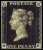 primer sello postal