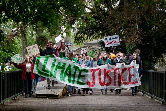 Cumbre Clima Protest Stamps Correos