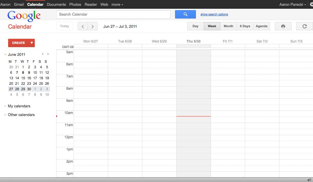 Google Calendar planificación oposición